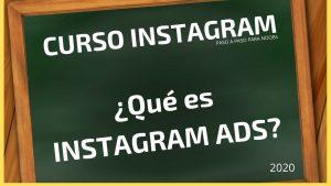 Curso Instagram Quieroganar - Que es Instagram Ads
