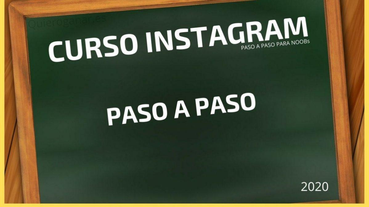 Instagram publicidad paso a paso en quieroganar curso completo