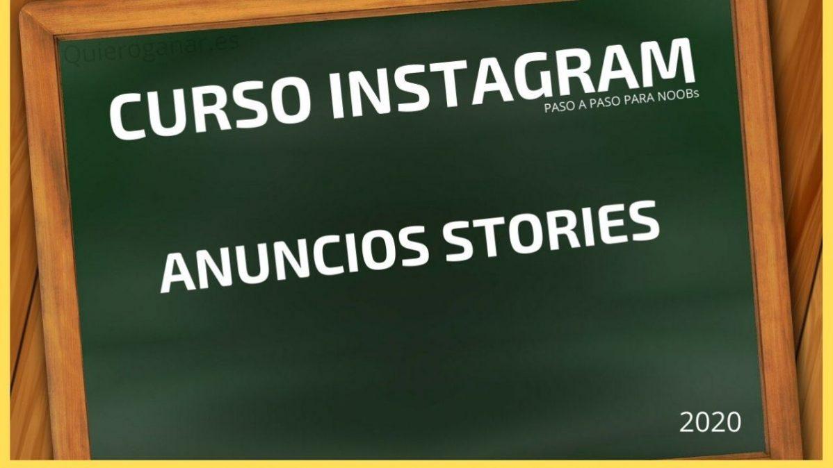 anuncios stories curso instagram