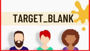 target blank que es y para que sirve