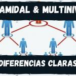 Diferencia entre empresa Piramidal y empresa Multinivel